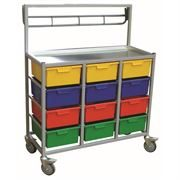 MIP KCART 12 TRAY COMBI with RAIL