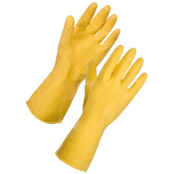yellow hh gloves