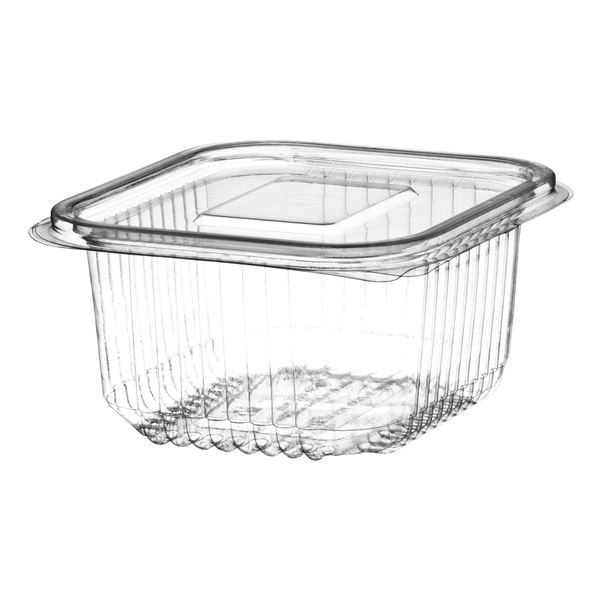 hinged salad container 500ml