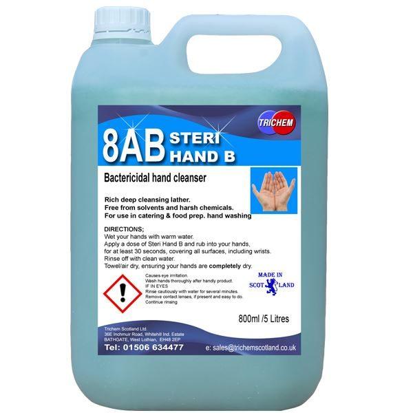 steri hand b 5 litres