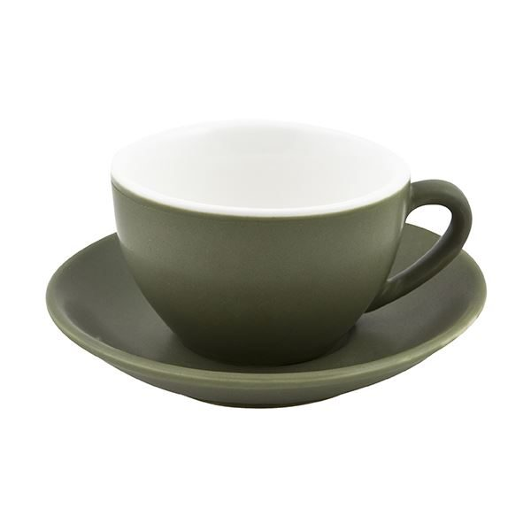 large cappuccino cup saucer